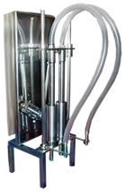 Dosador volumétrico para cremes e líquidos