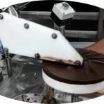 Maquina para cobrir tortas